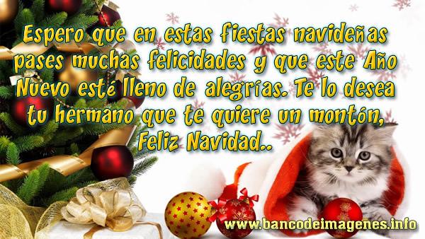 Bonitas Imágenes de Navidad con Frases para Facebook
