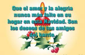 Imágenes con Frases de Navidad para Felicitar en Navidad