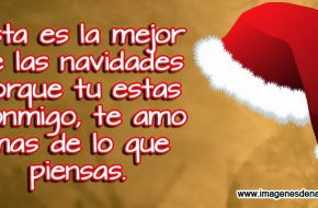 Imagenes con Frases de Navidad para Enamorados
