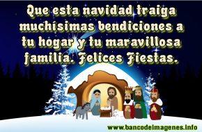 Postales de con Frases de Navidad para Felicitar
