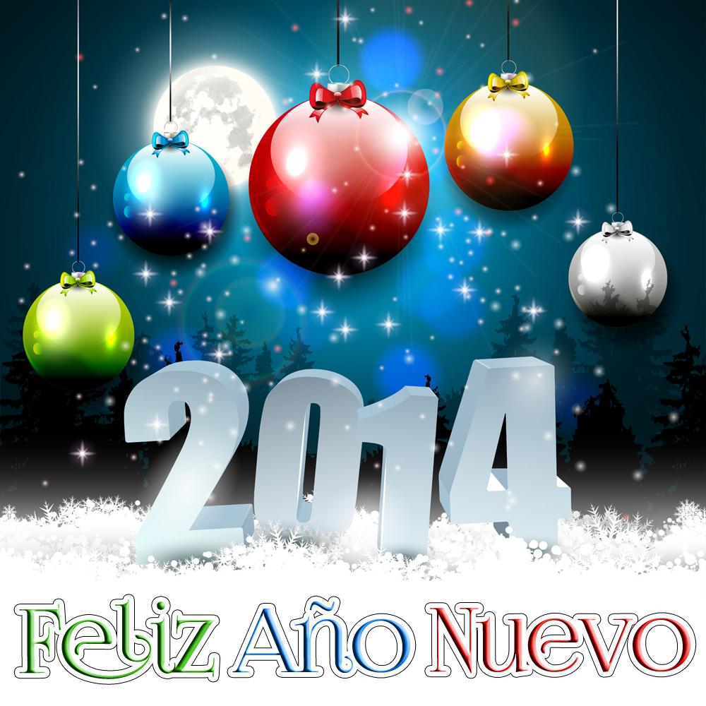 tarjetas de feliz año 2014
