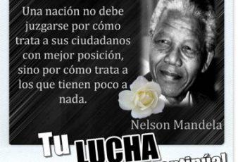 frases de Nelson Mandela nos dice adios