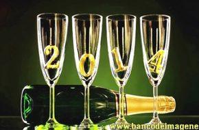Imágenes de para felicitar en año nuevo 2014