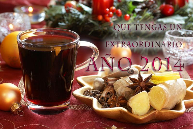 postales de año  nuevo para compartir con facebook