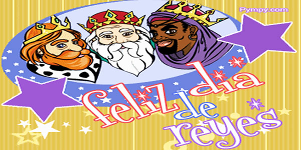 postales  de feliz dia de reyes