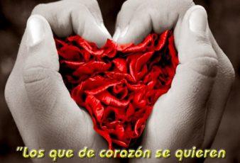 postales te entrego mi corazon