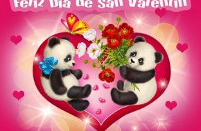 Imágenes con Felicitaciones de San Valentín 2014