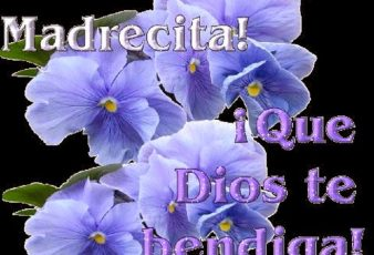 Felicidades Madresita que dios te bendiga