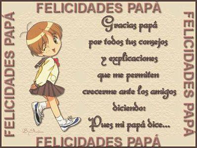 Feliz Dia Papa Imagenes con Frases