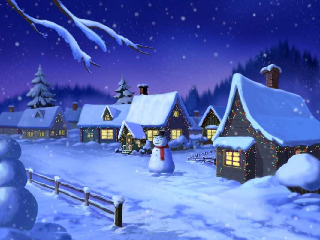 Imagenes bellos paisajes navideños