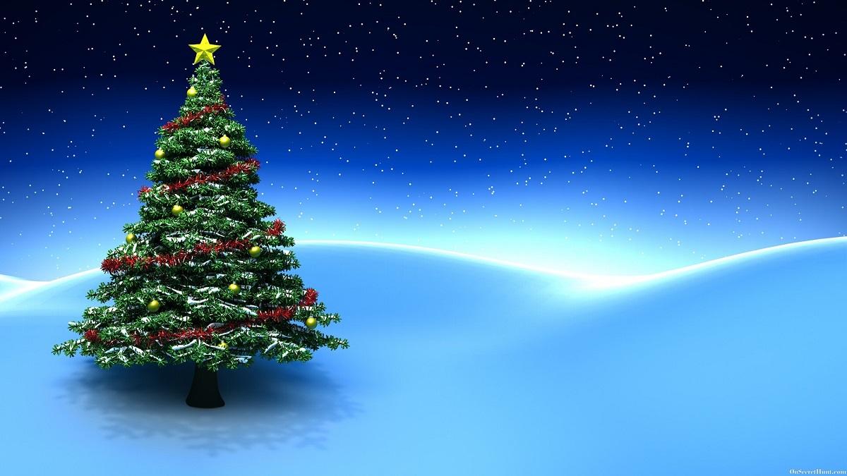 Arbol de Navidad Fondos de Pantalla en HD Gratis