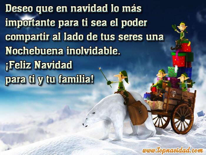 Imágenes de Navidad con Frases de Felicitación de Navidad y Año Nuevo