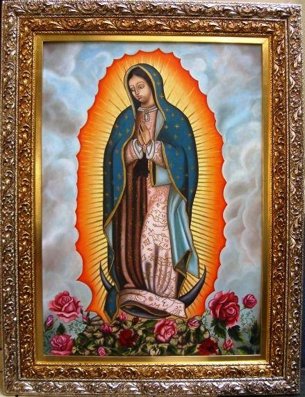 Imágenes en cuadro de Virgen de Guadalupe