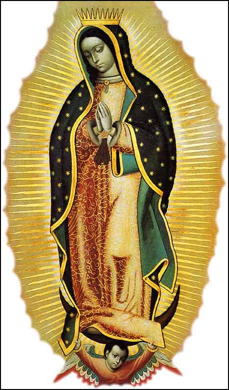 Nuestra Señora de Guadalupe en Pintura