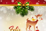Imágenes de Navidad con Frases para Felicitar