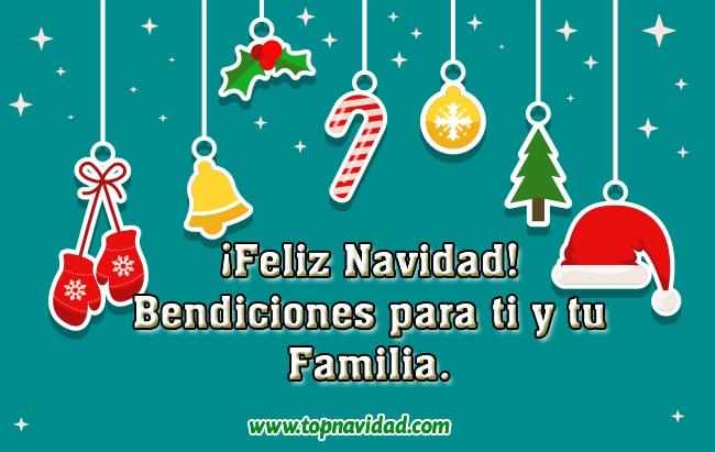 Tarjetas Postales de Navidad para Familia