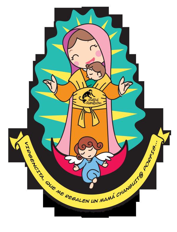 Imagenes Infantiles de Virgen de Guadalupe