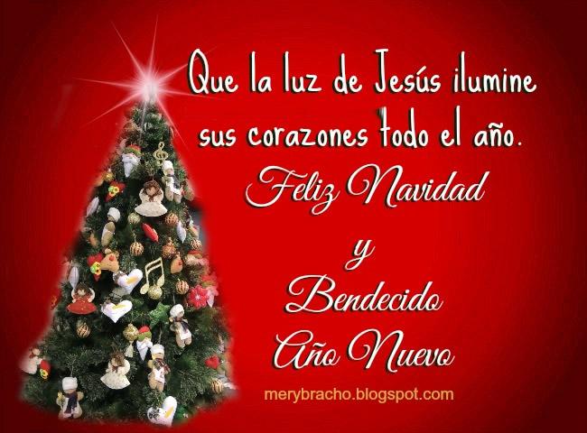 Saludos de Navidad y Año Nuevo con Frases Originales
