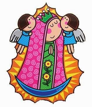 Virgen de Guadalupe para Niños