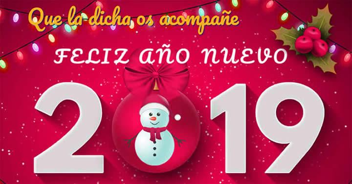 Bonitas Imágenes de Feliz Año Nuevo 2019