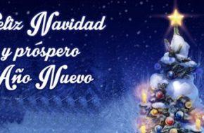 Dedicatorias de Feliz Navidad y Prospero año Nuevo