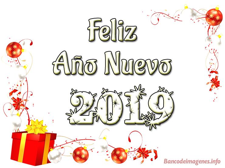 Felicitaciones de año nuevo 2019