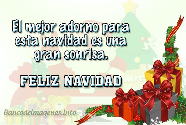 Imágenes Con Lindas Frases Para Felicitar En Navidad Banco