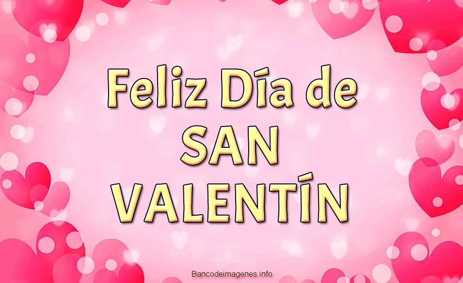 Imágenes bonitas de Feliz día San Valentín