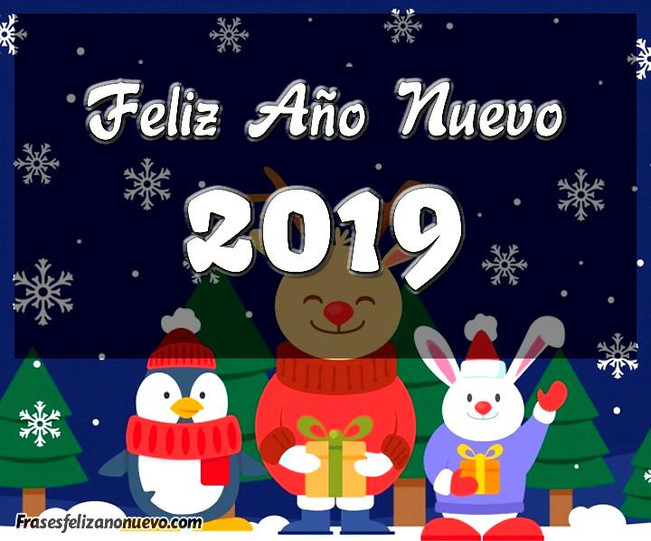 Imágenes de Feliz año nuevo 2019 gratis